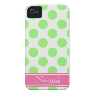 Preppy Polka Dots iPhone 4 Case-Mate Cases