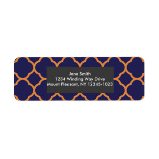 {Preppy} Return Address Labels