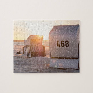 Prerow sunset jigsaw puzzle