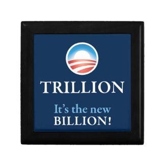 PRES44 NEW BILLION SMALL SQUARE GIFT BOX