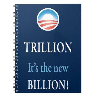 PRES44 NEW BILLION SPIRAL NOTE BOOK