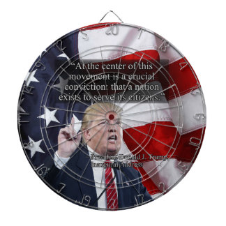 PRES45 CRUCIAL CONVICTION DARTBOARD