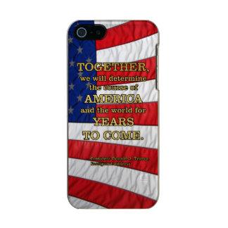 PRES45 DETERMINE COURSE INCIPIO FEATHER® SHINE iPhone 5 CASE