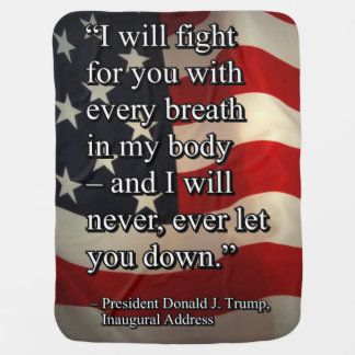 PRES45 FIGHT FOR YOU BABY BLANKET