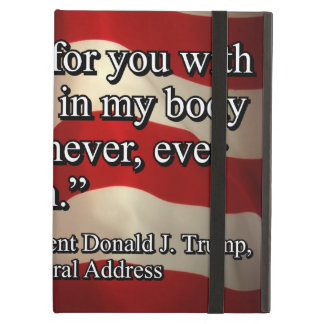 PRES45 FIGHT FOR YOU iPad AIR COVER