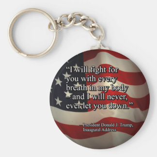 PRES45 FIGHT FOR YOU KEY RING