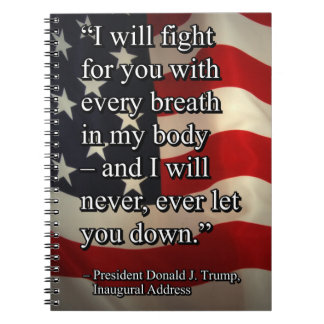 PRES45 FIGHT FOR YOU SPIRAL NOTEBOOK