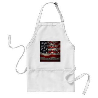 PRES45 FIGHT FOR YOU STANDARD APRON
