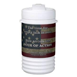 PRES45 HOUR OF ACTION DRINKS COOLER