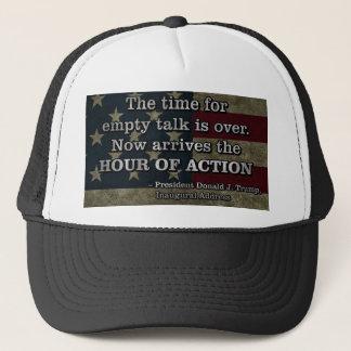 PRES45 HOUR OF ACTION TRUCKER HAT