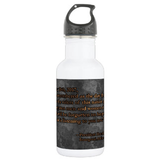 PRES45 JANUARY 20TH 532 ML WATER BOTTLE