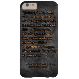 PRES45 JANUARY 20TH BARELY THERE iPhone 6 PLUS CASE