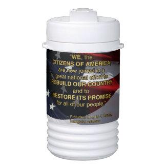 PRES45 NATIONAL EFFORT DRINKS COOLER