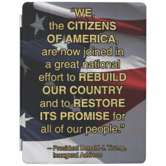 PRES45 NATIONAL EFFORT iPad COVER