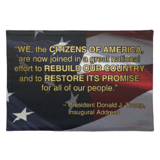 PRES45 NATIONAL EFFORT PLACEMAT