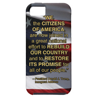 PRES45 NATIONAL EFFORT TOUGH iPhone 5 CASE