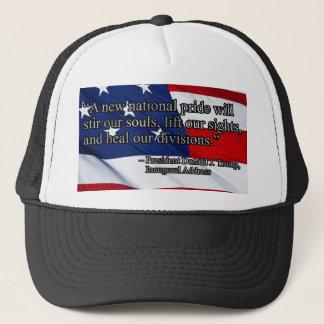 PRES45 NATIONAL PRIDE TRUCKER HAT