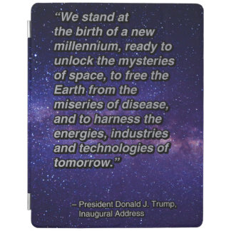 PRES45 NEW MILLENNIUM iPad COVER