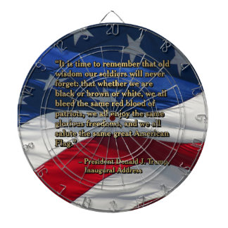 PRES45 OLD WISDOM DARTBOARD
