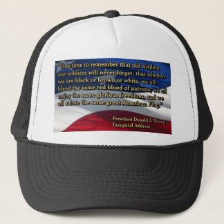 PRES45 OLD WISDOM TRUCKER HAT