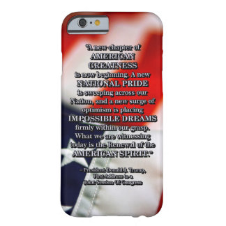 PRES45 RENEWAL OF SPIRIT BARELY THERE iPhone 6 CASE