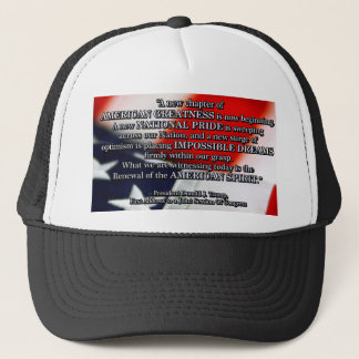 PRES45 RENEWAL OF SPIRIT TRUCKER HAT