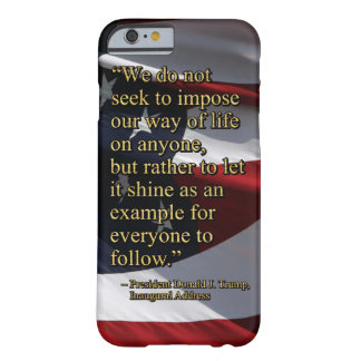 PRES45 SHINE AS EXAMPLE BARELY THERE iPhone 6 CASE