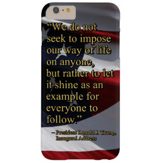 PRES45 SHINE AS EXAMPLE BARELY THERE iPhone 6 PLUS CASE