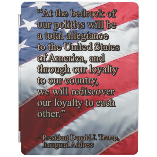 PRES45 TOTAL ALLEGIANCE iPad COVER
