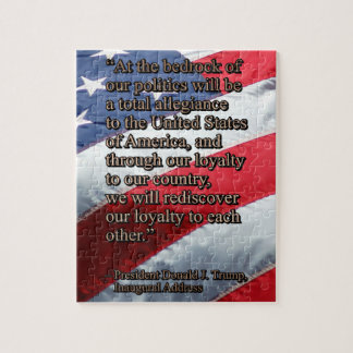 PRES45 TOTAL ALLEGIANCE JIGSAW PUZZLE