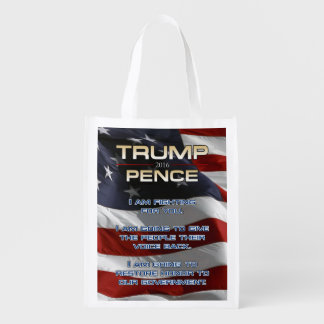 PRES45 VOICE HONOR REUSABLE GROCERY BAG