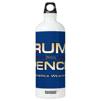 PRES45 WEALTHY WATER BOTTLE
