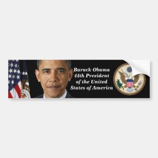 Pres. Obama Portrait, Official Seal Bumper Sticker