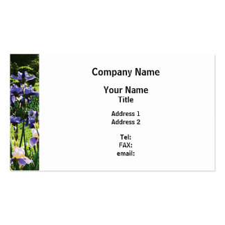 Presby Iris Garden Pack Of Standard Business Cards
