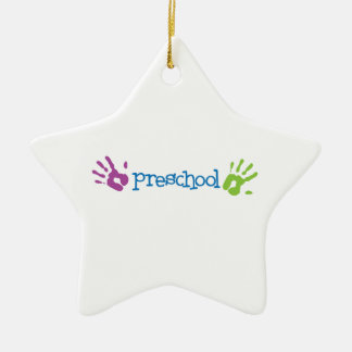 Preschool Ceramic Ornament