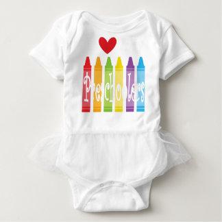 preschool teacher2 baby bodysuit