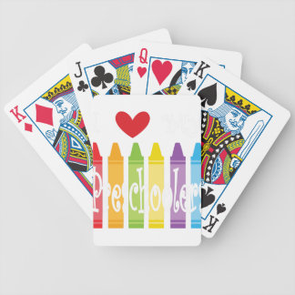 preschool teacher2 bicycle playing cards