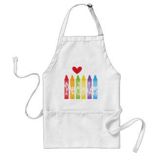 preschool teacher2 standard apron