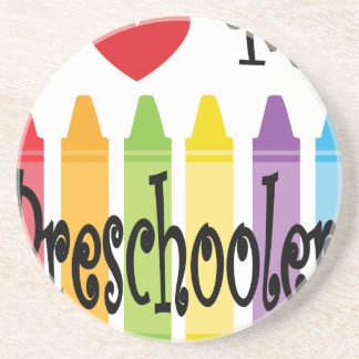 preschool teacher coaster