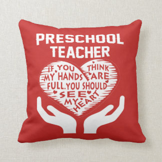 Preschool Teacher Cushion