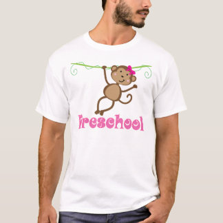 Preschool Teacher Monkey Gift T-Shirt