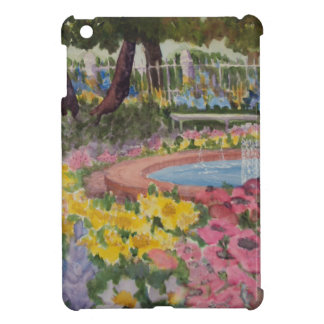 Prescott Park Garden Poppies Portsmouth NH iPad Mini Case