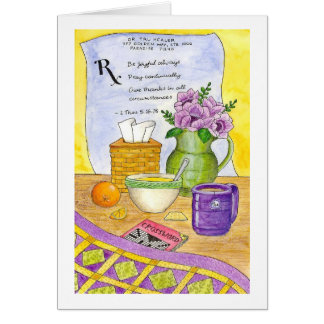 Prescription for Wellness Get Well Card