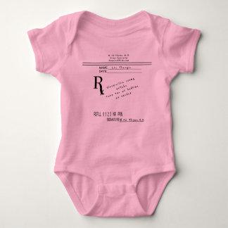 Prescription Pad - Sleepicillin by B. Ed Thyme MD Baby Bodysuit