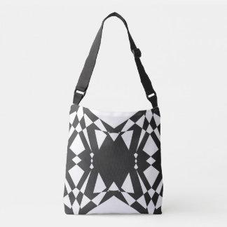 Present geometry crossbody bag