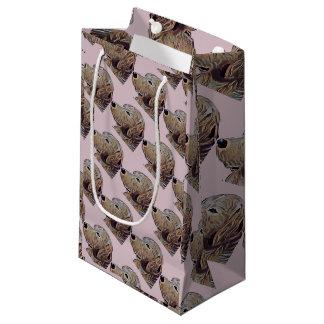 Present stock market Golden Small Gift Bag
