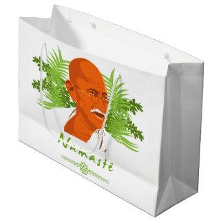 Present stock market GR. Gandhi Large Gift Bag