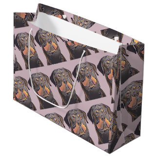 Present stock market GR. Rotweiller Large Gift Bag