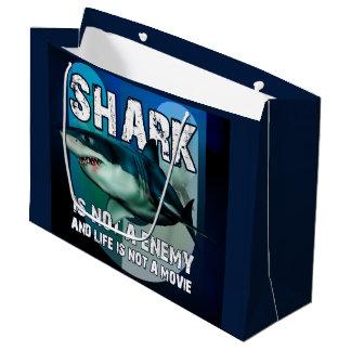 Present stock market GR. Shark Large Gift Bag
