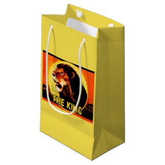 Present stock market The King Small Gift Bag